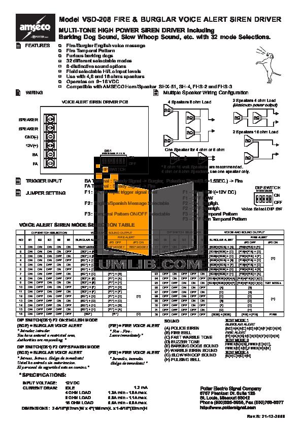 pdf for Bg Speaker PD-6Ci manual