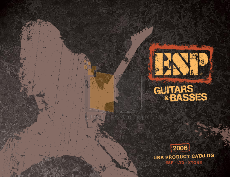 pdf for ESP Guitar MH-250NT manual
