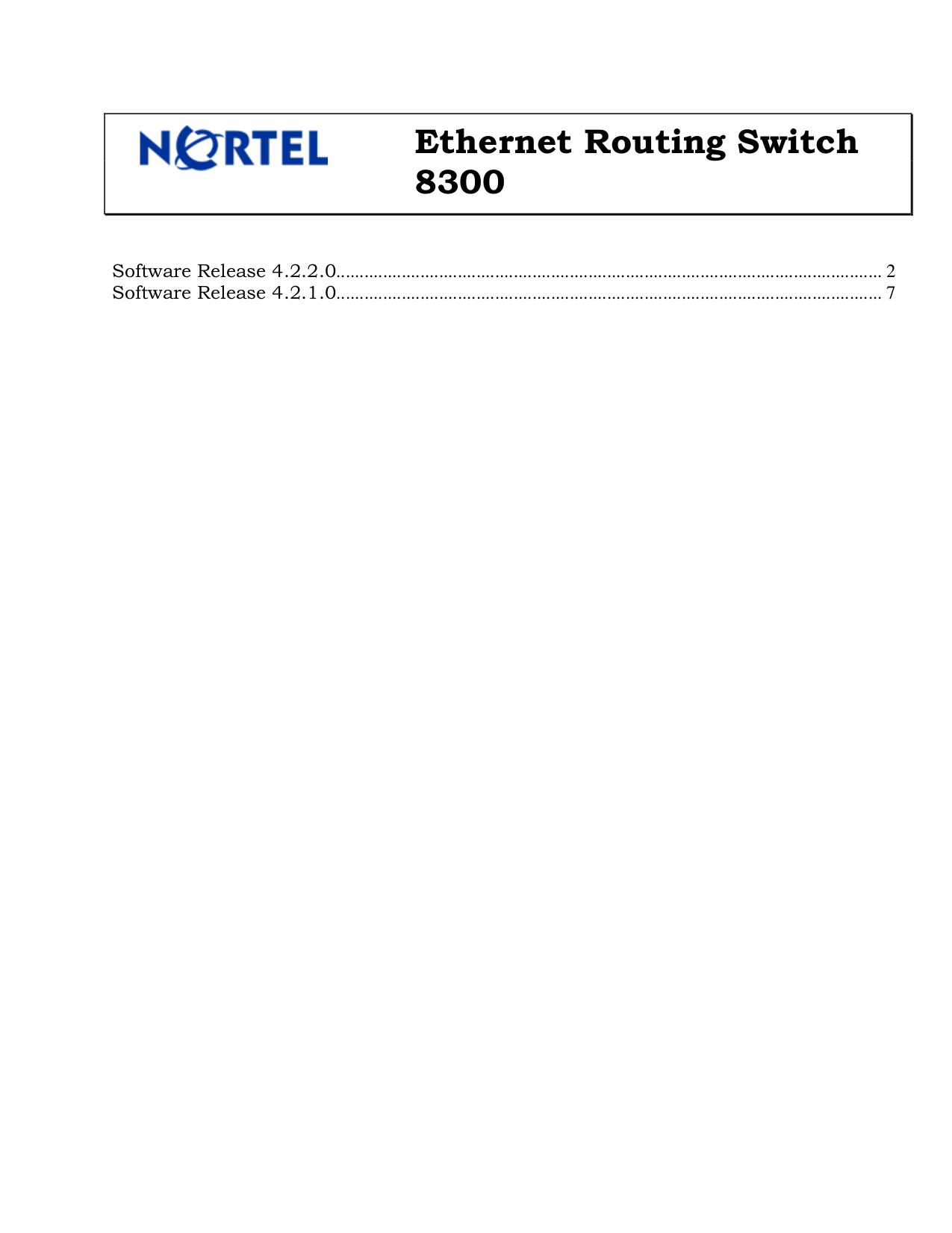 pdf for Nortel Switch 8348GTX manual