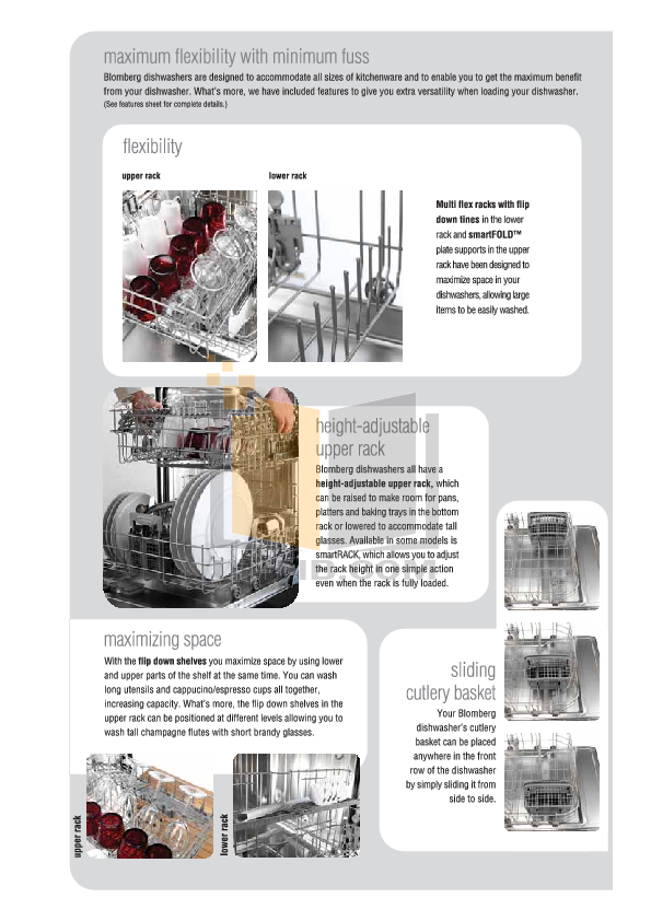 Blomberg Dishwasher DWT34240 pdf page preview