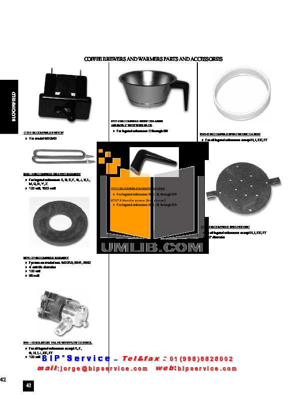 pdf for Cecilware Other ELT-500 Fryers manual