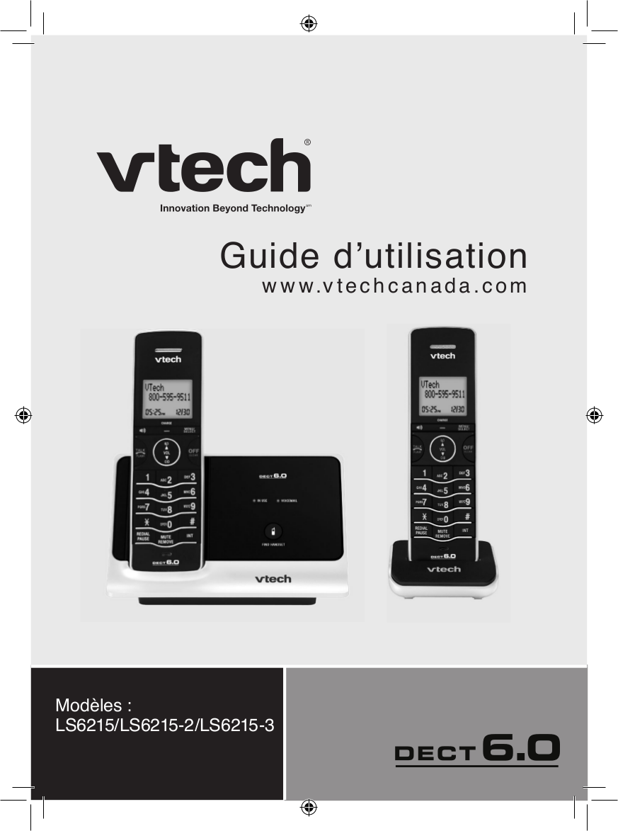 pdf for Vtech Telephone LS6215-2 manual