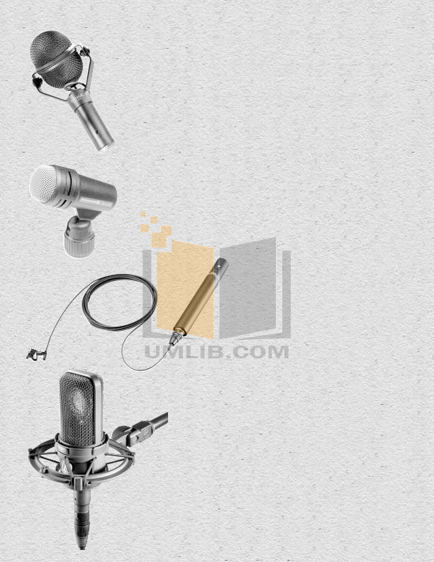 pdf for Crown Other CM-31W Microphones manual