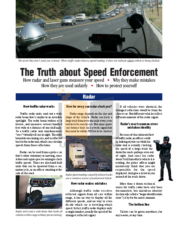 pdf for Escort Radar Detector Solo S2 manual