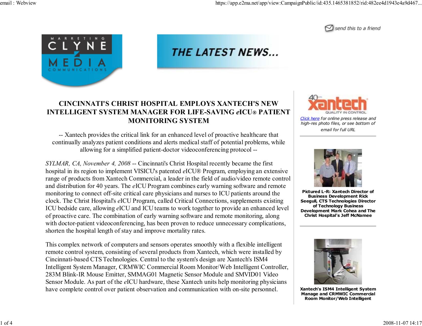 pdf for Xantech Other SMVID01 Sensor Module manual