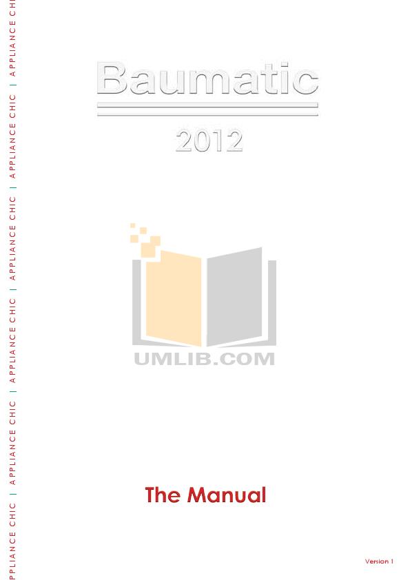pdf for Baumatic Dryer BTD1 manual