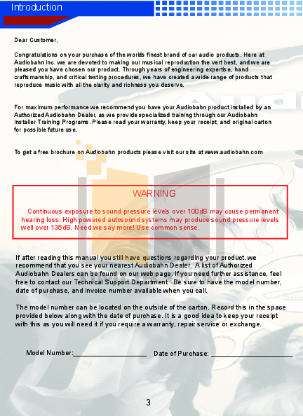 pdf manual for audiobahn car amplifier a8001dt rh umlib com 400 Watt Audiobahn Amp Audiobahn Subwoofers