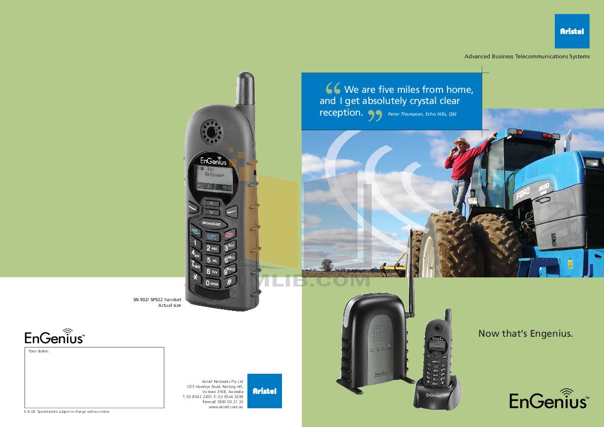 engenius phone manual