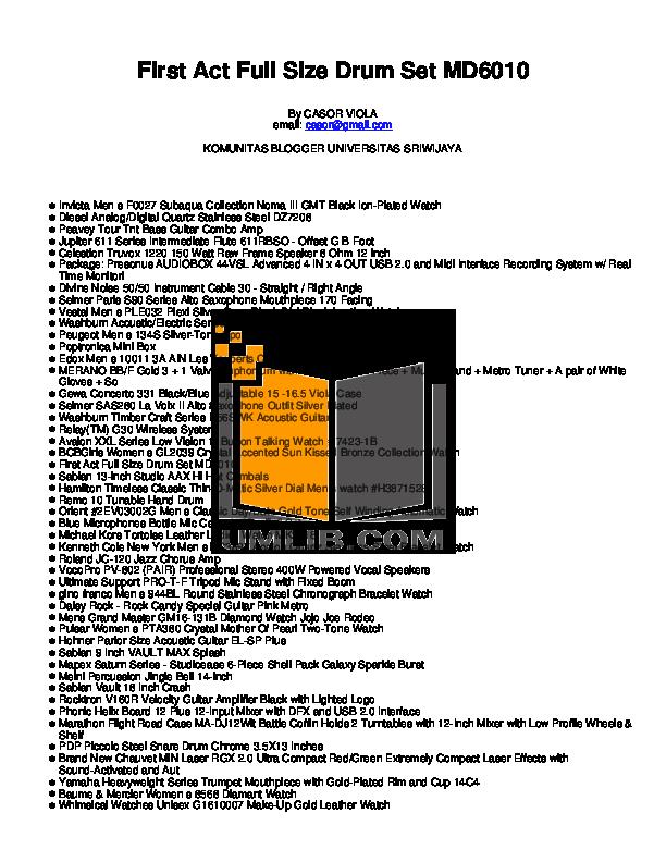 pdf for Diesel Watch DZ7208 manual