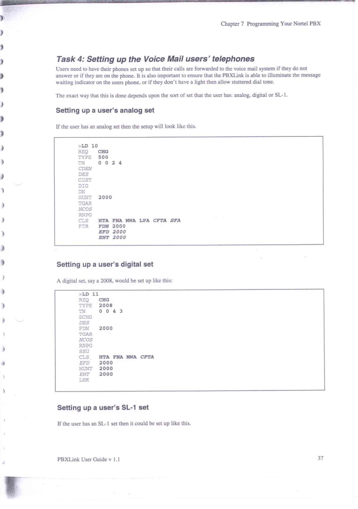 meridian pbx programming manual