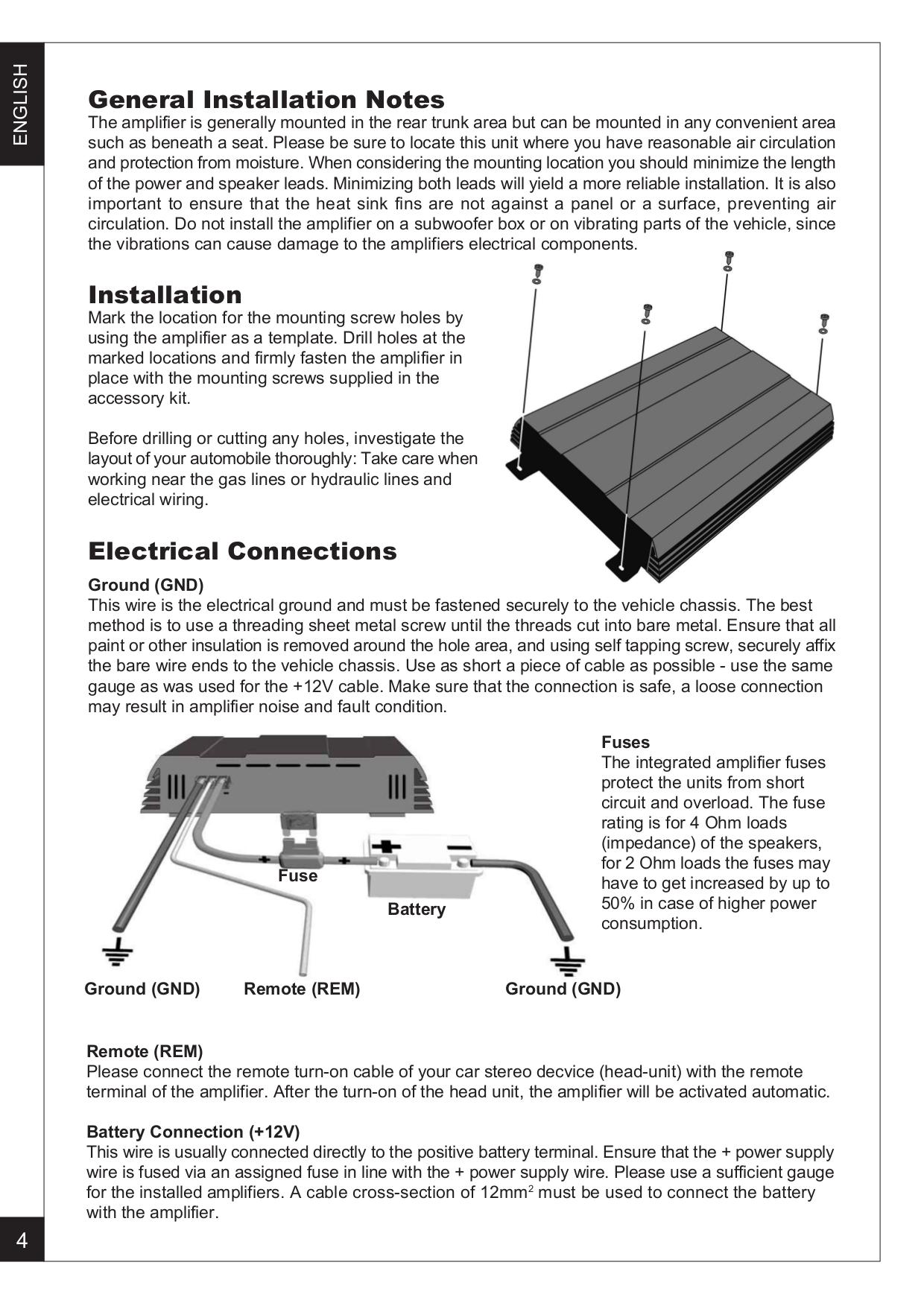 pdf manual for renegade car amplifier ren 550 s rh umlib com Renegade Amp Kit Renegade Amplifier Logo