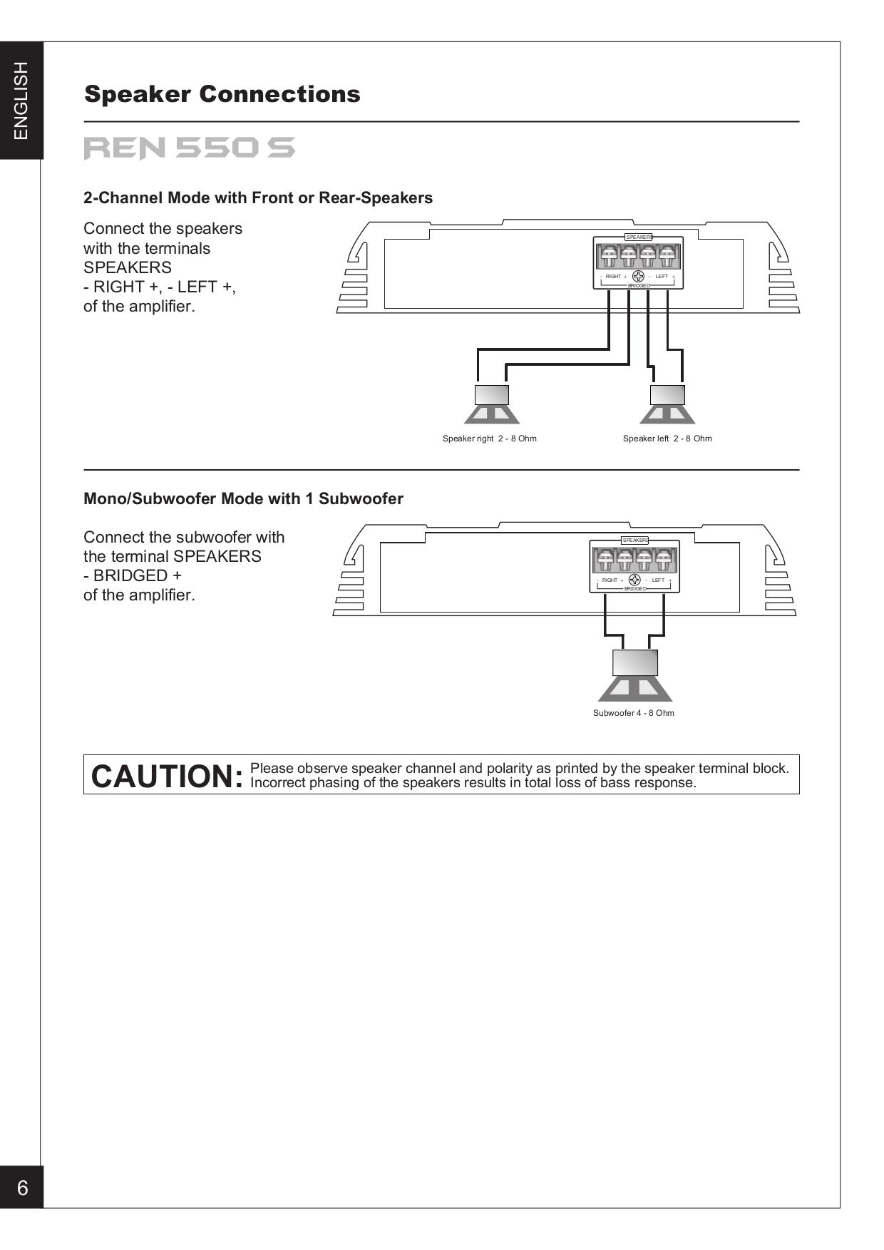 pdf manual for renegade car amplifier ren 550 s rh umlib com Renegade Amp Kit Renegade Car Audio