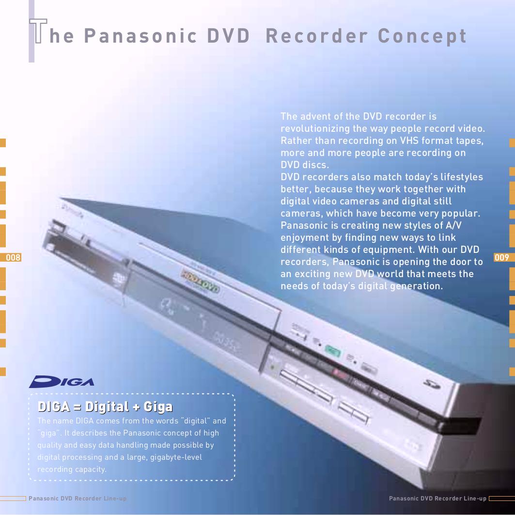 pdf manual for panasonic dvd players diga dmr e60 rh umlib com Panasonic DMR EZ485V panasonic dmr-e60 dvd recorder manual
