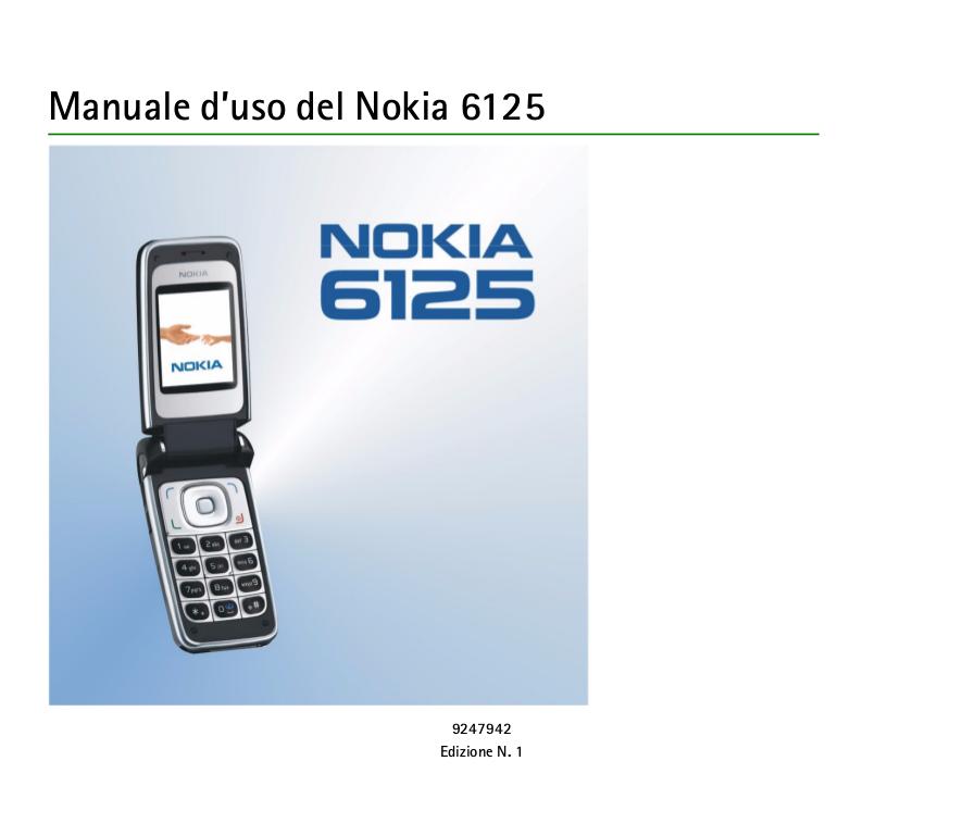 Nokia manuale uso