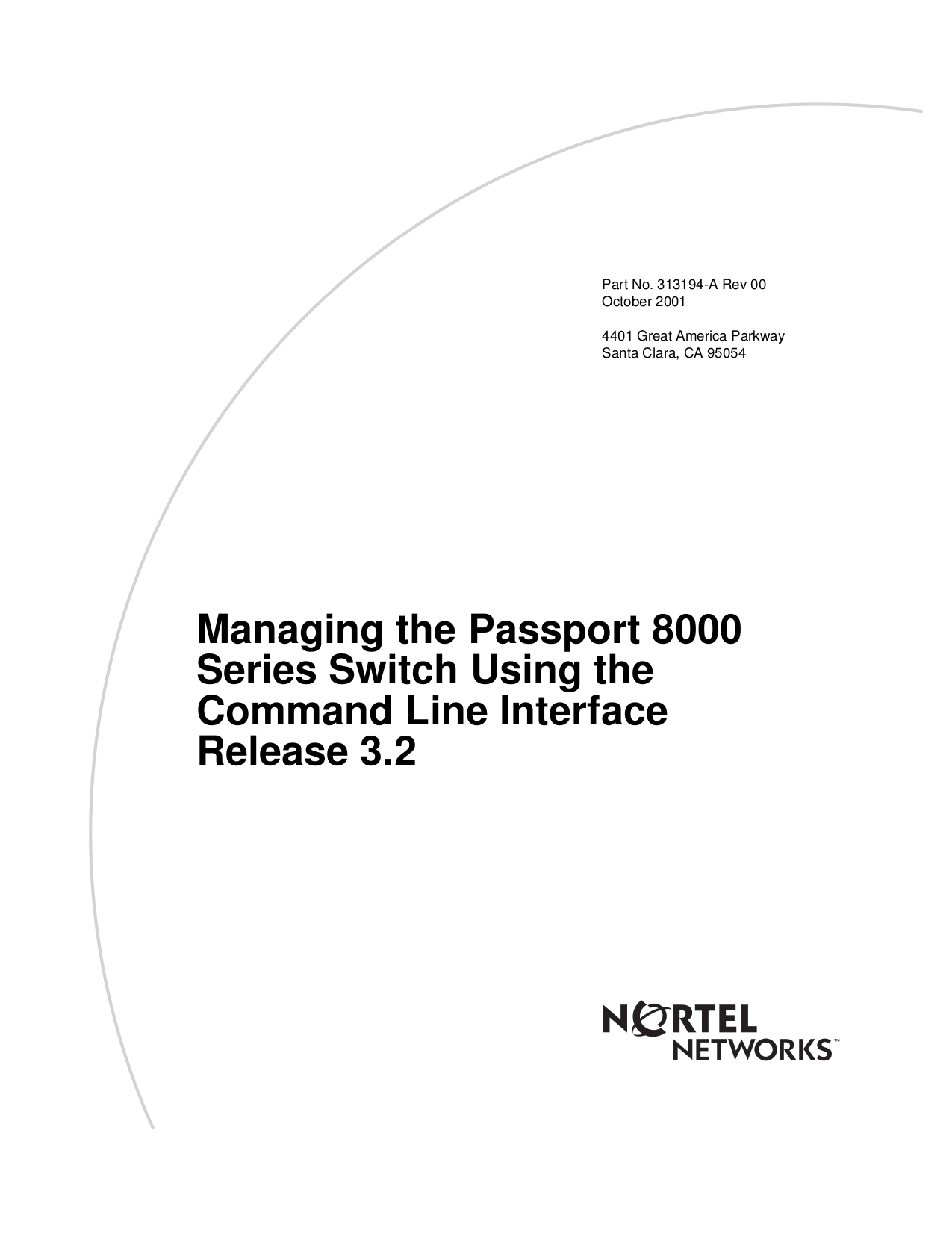 pdf for Nortel Switch Passport 8608 manual