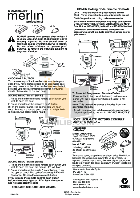 chamberlain garage door wiring solidfonts chamberlain garage door safety sensor wiring diagram