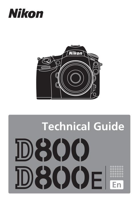 Nikon D800E User Manual