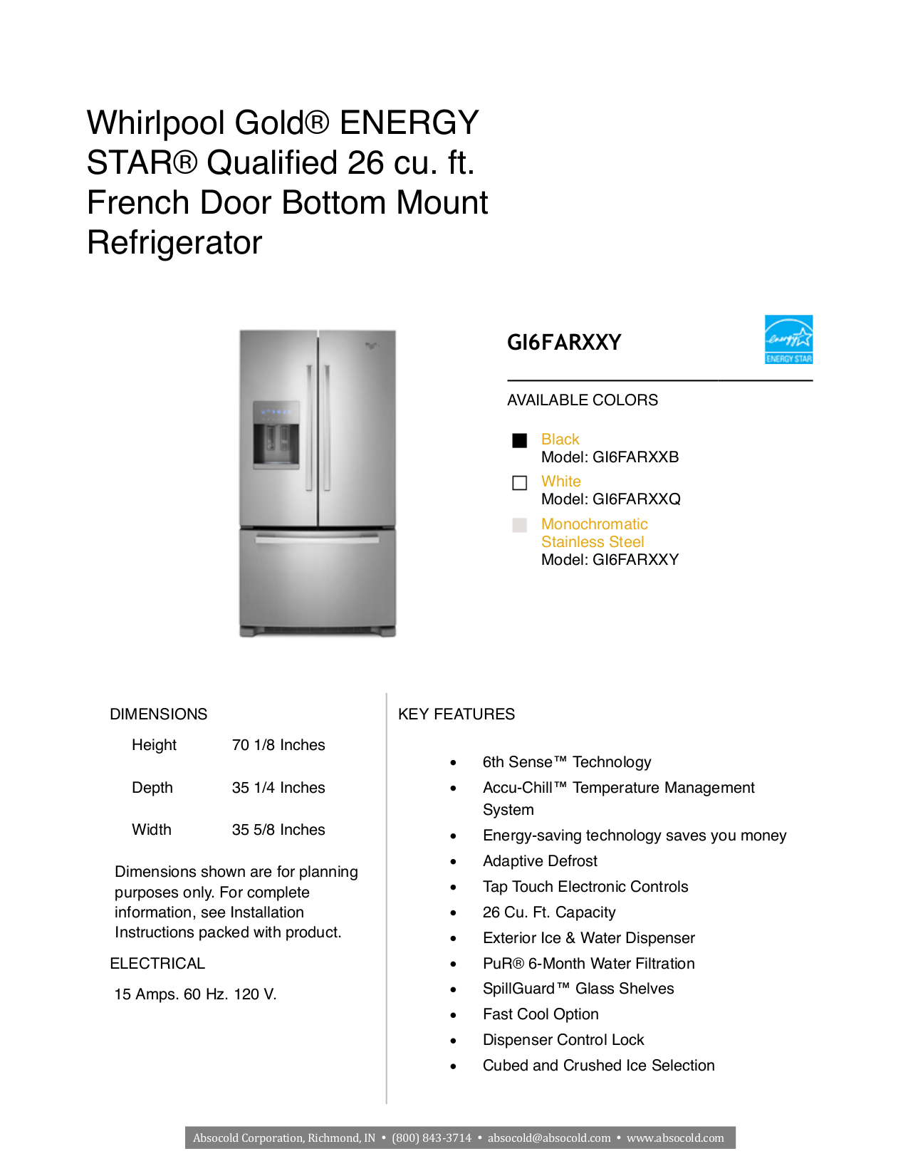download free pdf for whirlpool gold gi6farxxy refrigerator manual rh umlib com whirlpool fridge manual for model wrx988sibm whirlpool fridge manual for model wrs571c1dw