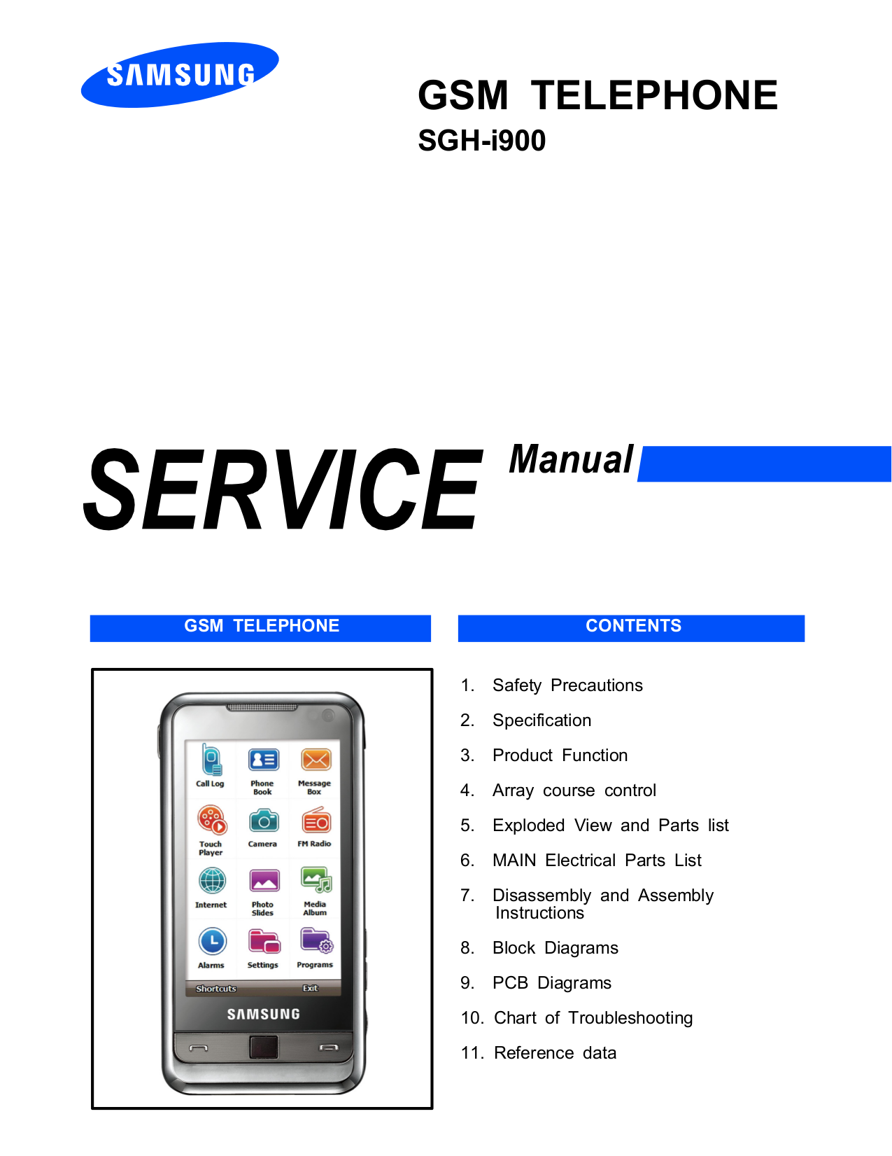 pdf for Samsung Cell Phone SGH-D600 manual