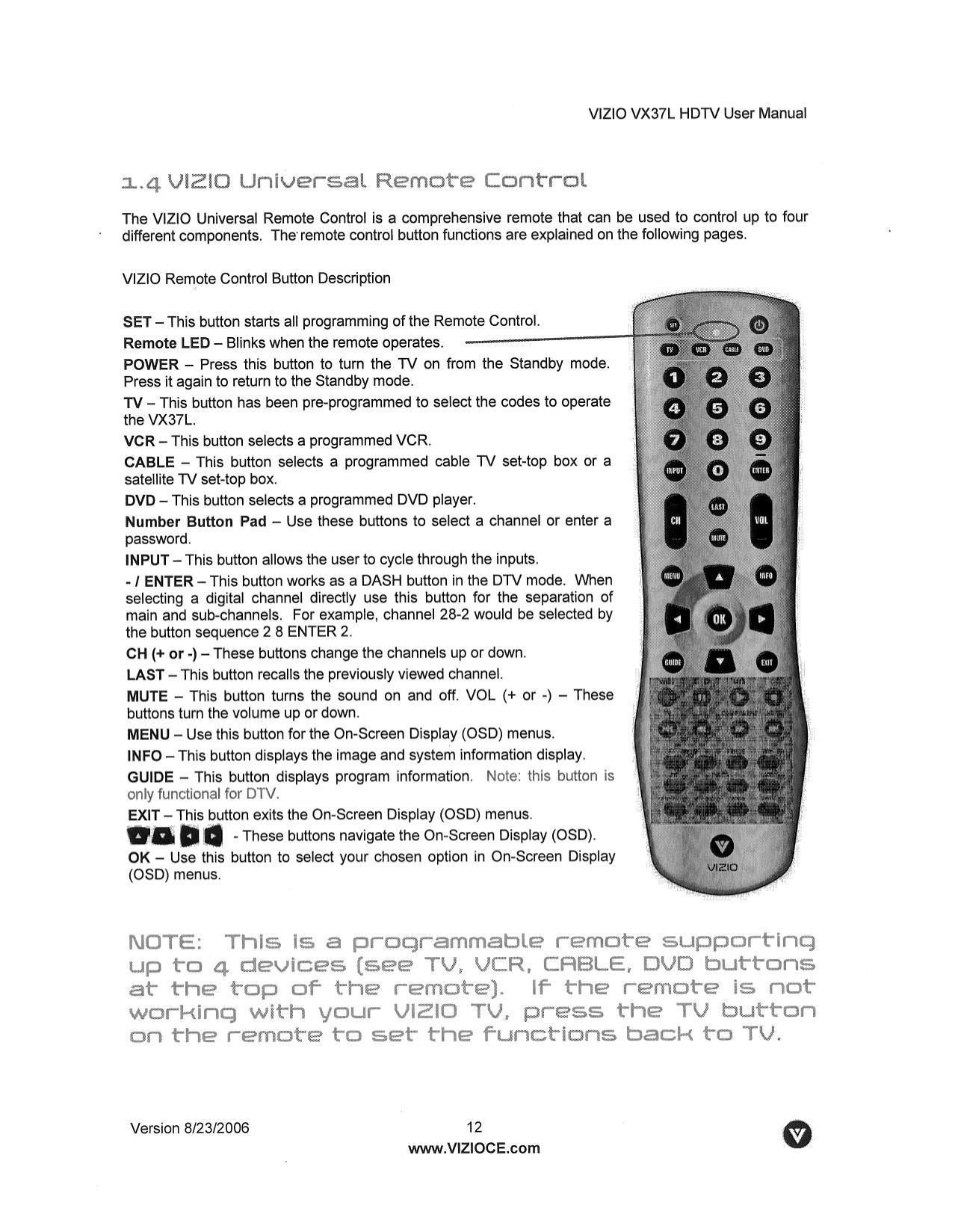 Vizio vw32l hdtv10a manual ebook array download free pdf for vizio vx37l tv manual rh umlib com fandeluxe Image collections