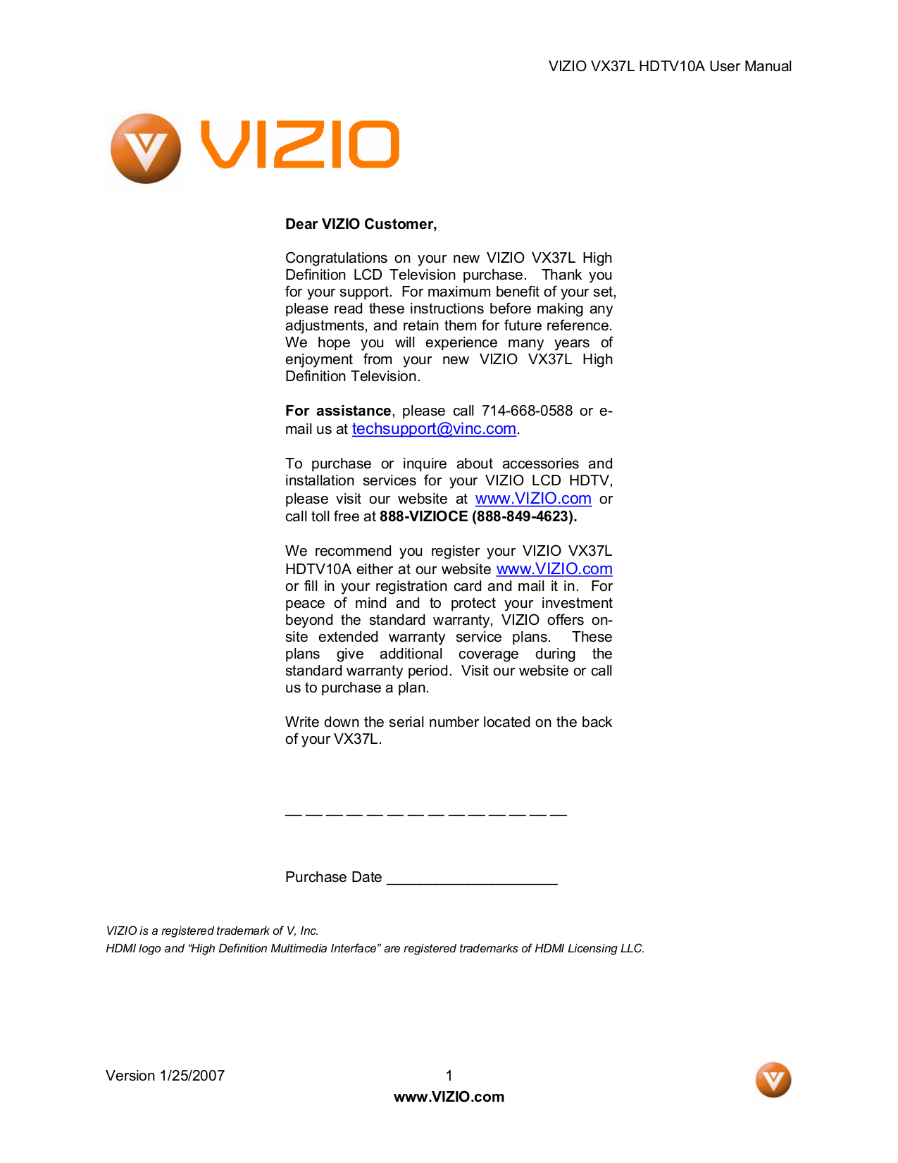 Download free pdf for vizio vx37l tv manual pdf for vizio tv vx37l manual fandeluxe