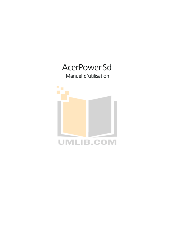 pdf for Acer Desktop AcerPower SLE manual