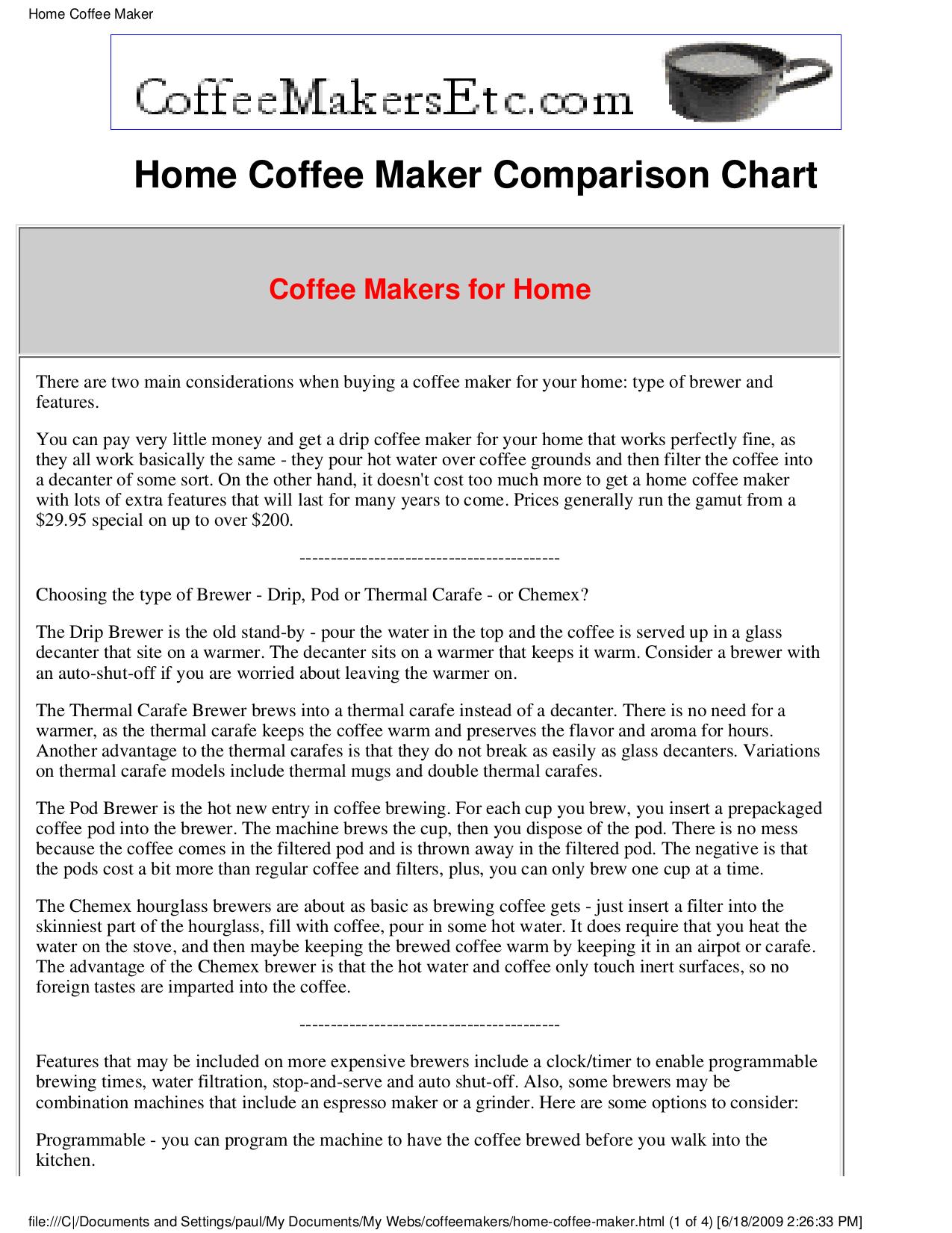 pdf for Krups Coffee Maker KM7000 manual