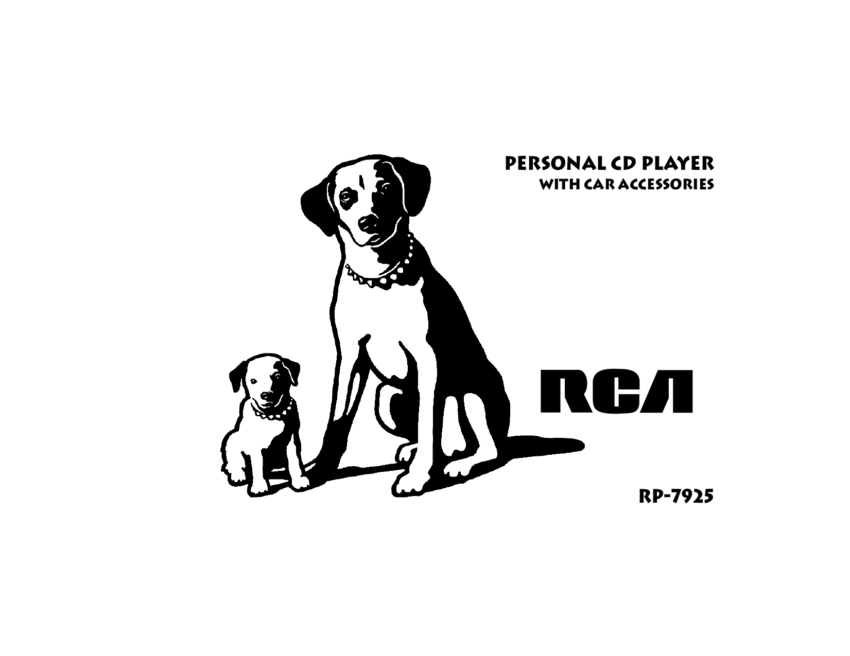 RCA CD Player RP7925 pdf page preview