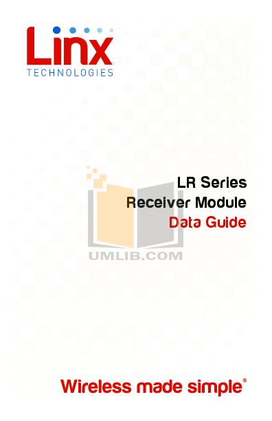 pdf for DEI Car Receiver 650 manual
