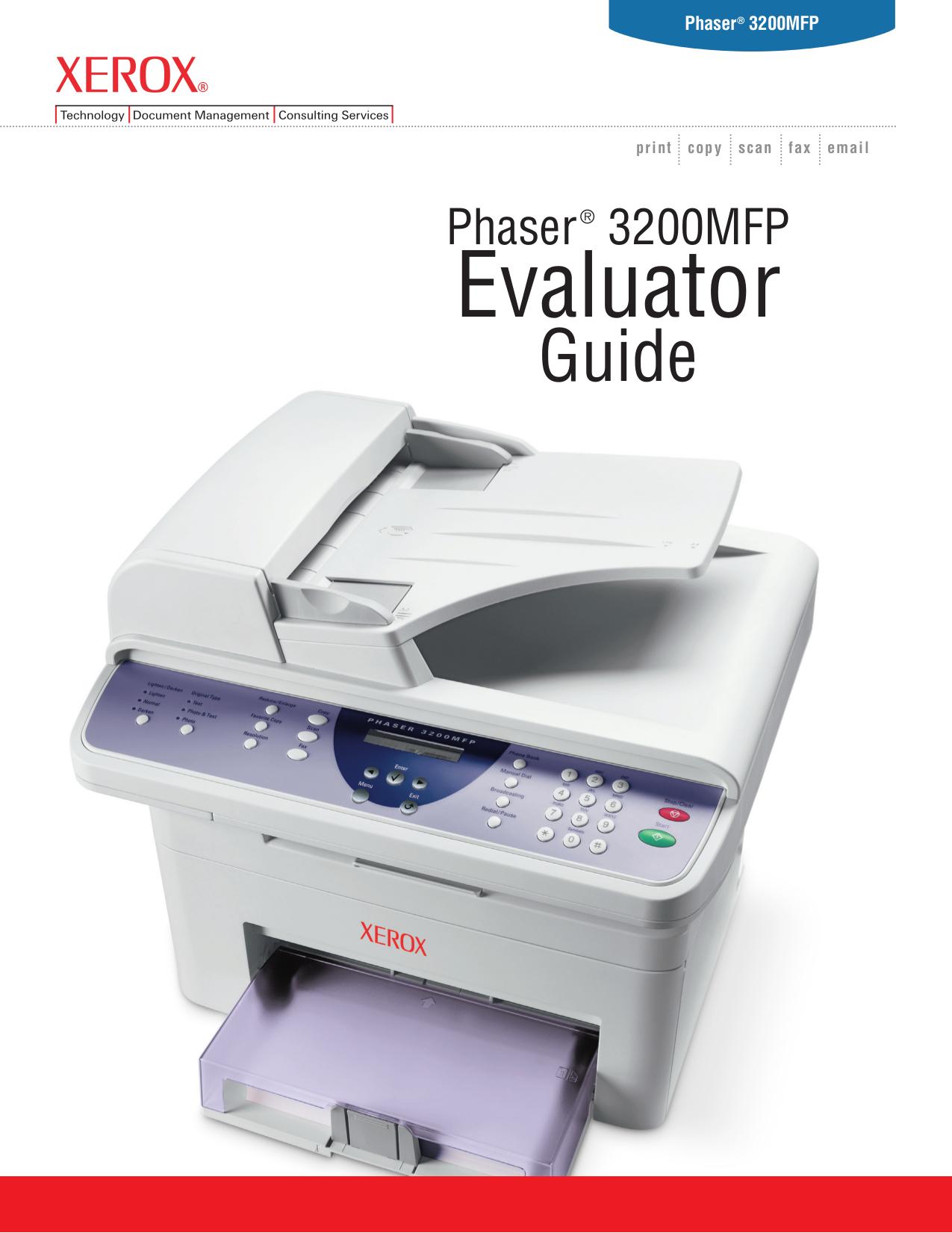 download free pdf for xerox phaser 3200mfp multifunction printer manual rh umlib com xerox phaser 3200 mfp troubleshooting xerox phaser 3200 mfp troubleshooting