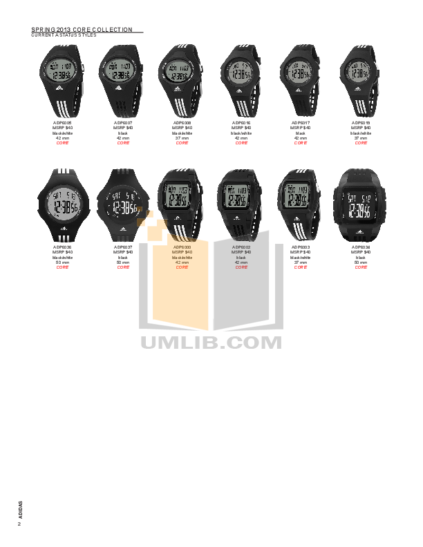Download free pdf for adidas adp6000 watch manual.