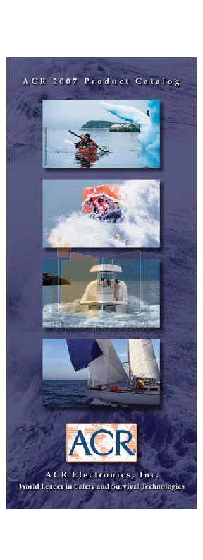 pdf for ACR GPS TerraFix 406 manual