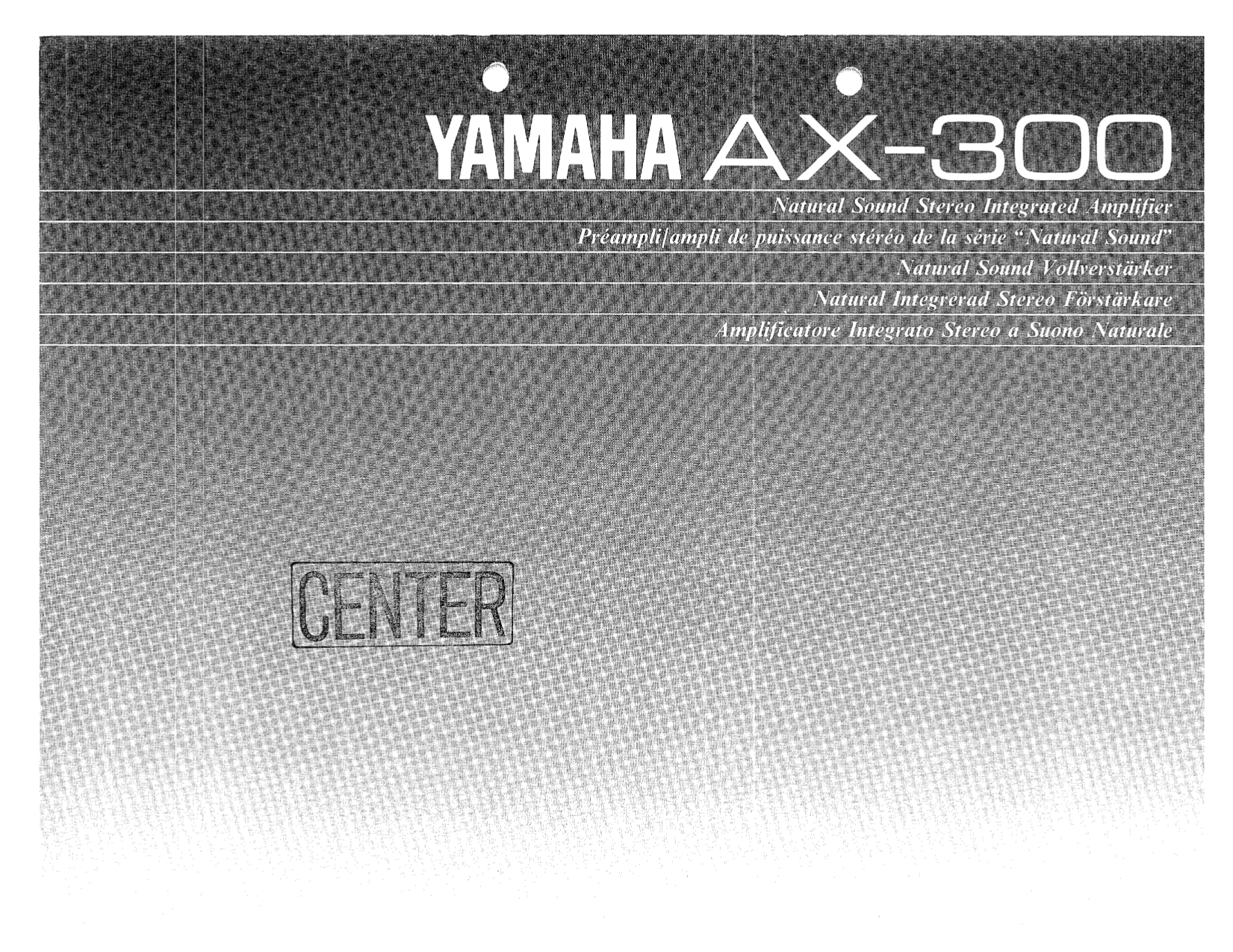 download free pdf for yamaha ax