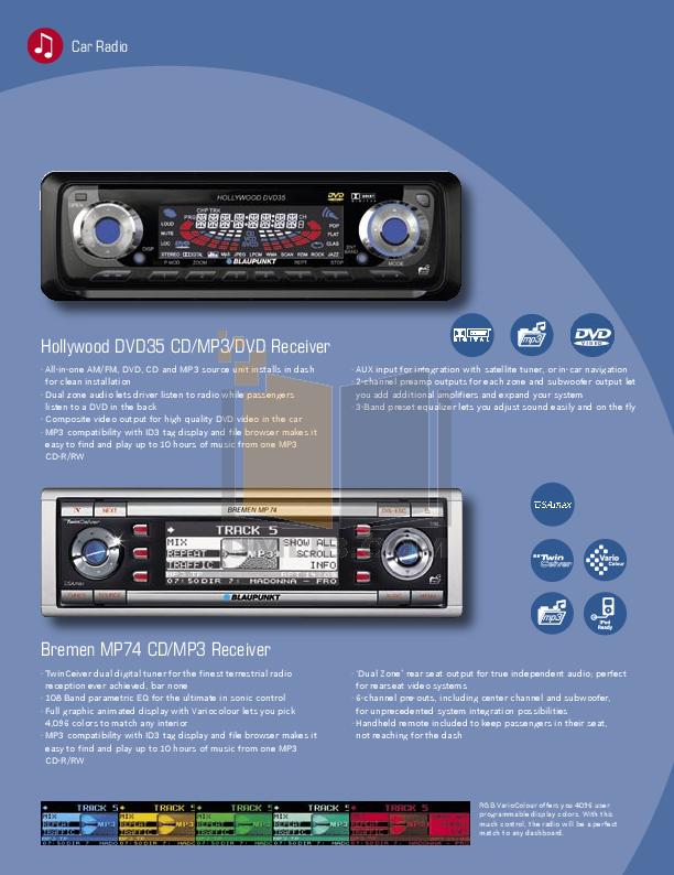 pdf manual for blaupunkt car video dvdme2 rh umlib com Blaupunkt Car Audio Models Blaupunkt Car Audio Models