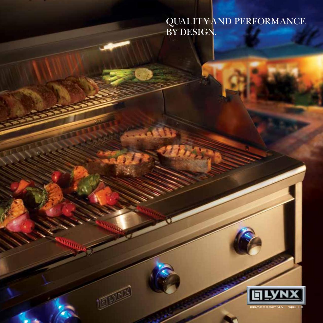pdf for lynx grill l36psfr1 manual - Lynx Grill