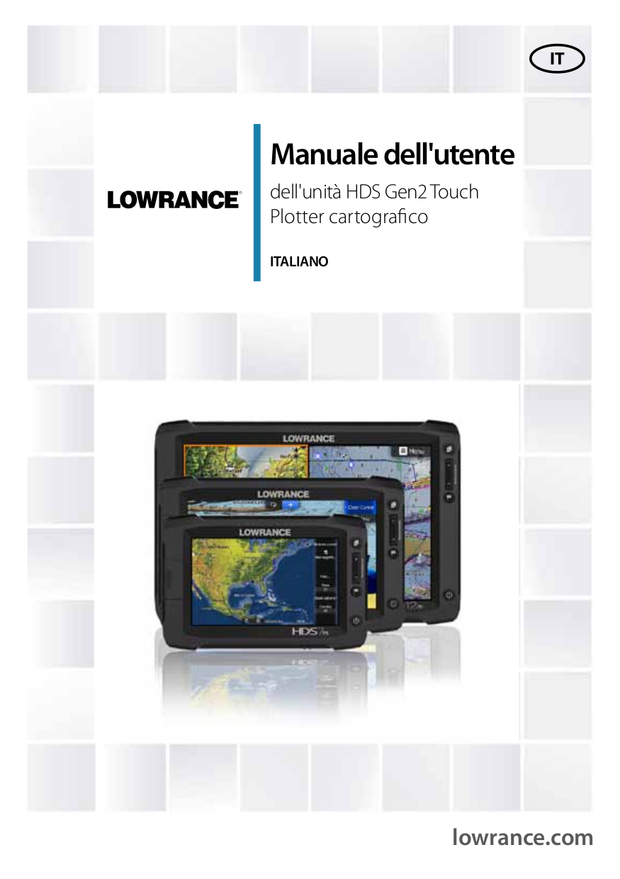 pdf for Lowrance GPS LCX-16 CI manual