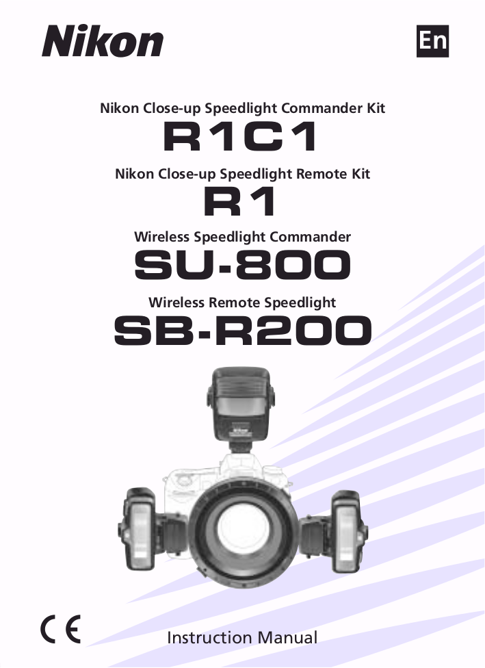 pdf for Nikon Other SU-800 Speedlights manual