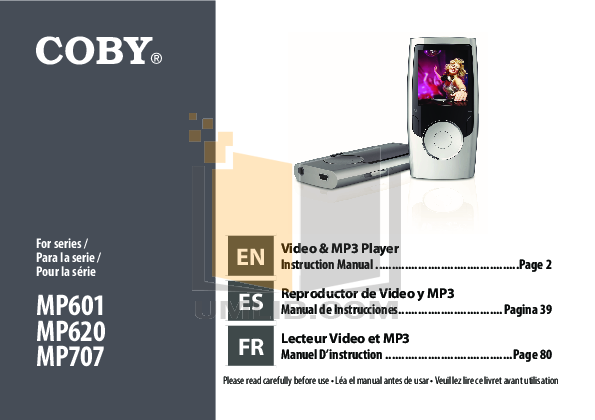 download free pdf for coby mp 707 4gb mp3 player manual rh umlib com Coby MP3 Player Support USB Coby MP3 Player Support USB