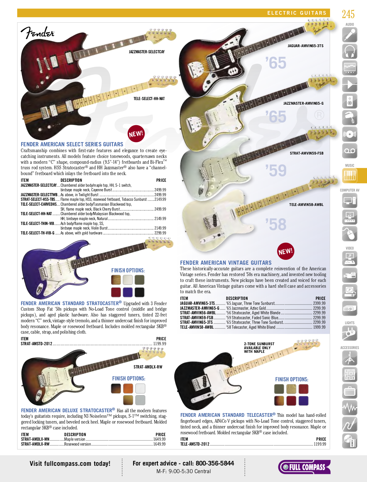 Download free pdf for Squier Affinity Strat HSS Guitar manual