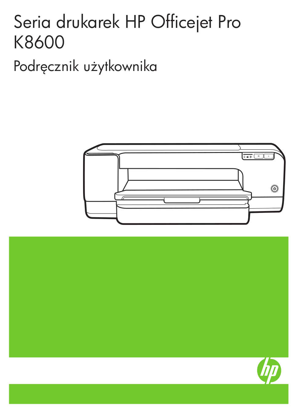 pdf for HP Printer Officejet Pro K8600 manual