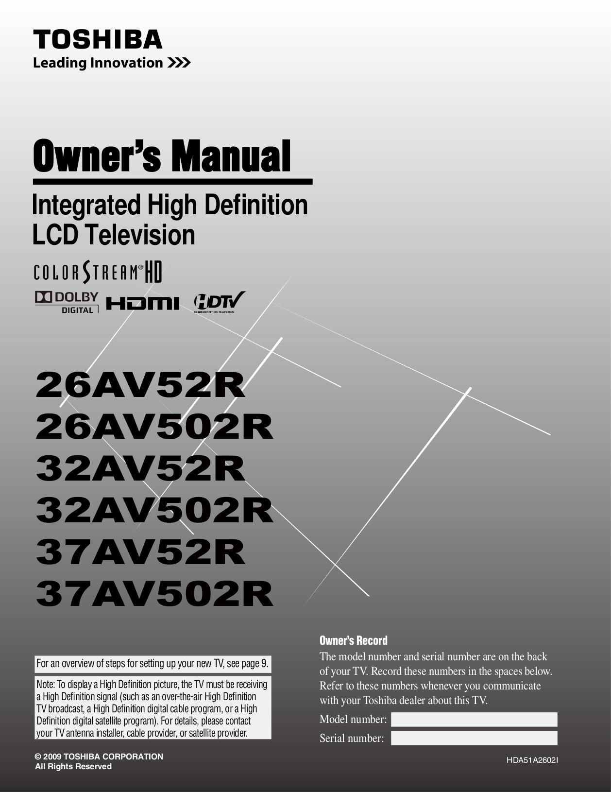 download free pdf for toshiba 37av502r tv manual rh umlib com Toshiba E-Studio203sd Manuals toshiba 37av502r service manual