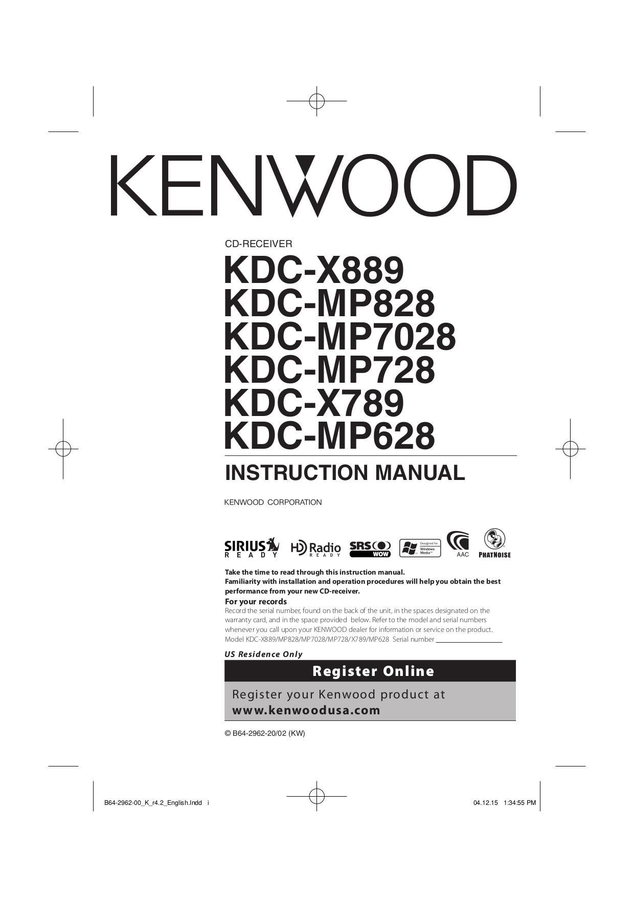 download free pdf for kenwood kdc 128 car receiver manual. Black Bedroom Furniture Sets. Home Design Ideas