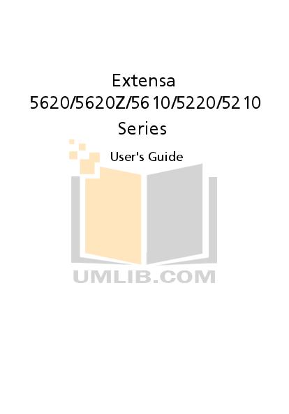 download free pdf for acer extensa 5620 laptop manual rh umlib com Vista Wi-Fi Driver Acer Extensa 5220 acer extensa 5620z service manual