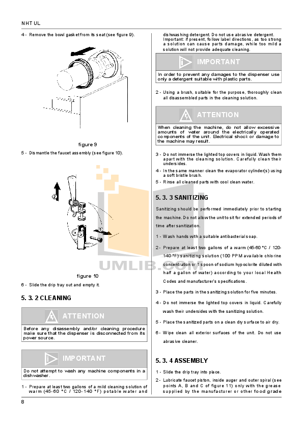 Cecilware Other NHT-1P-UL Dispensers pdf page preview