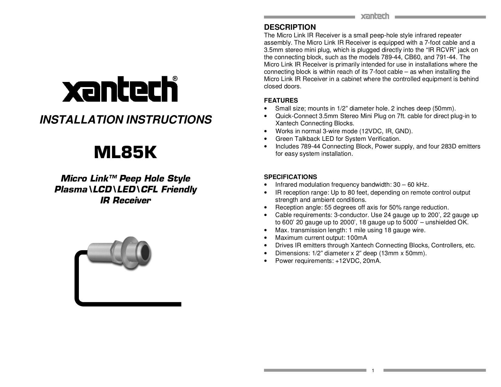 81223K.pdf 0 download free pdf for xantech cb60 connecting blocks other manual xantech 789-44 wiring diagram at honlapkeszites.co