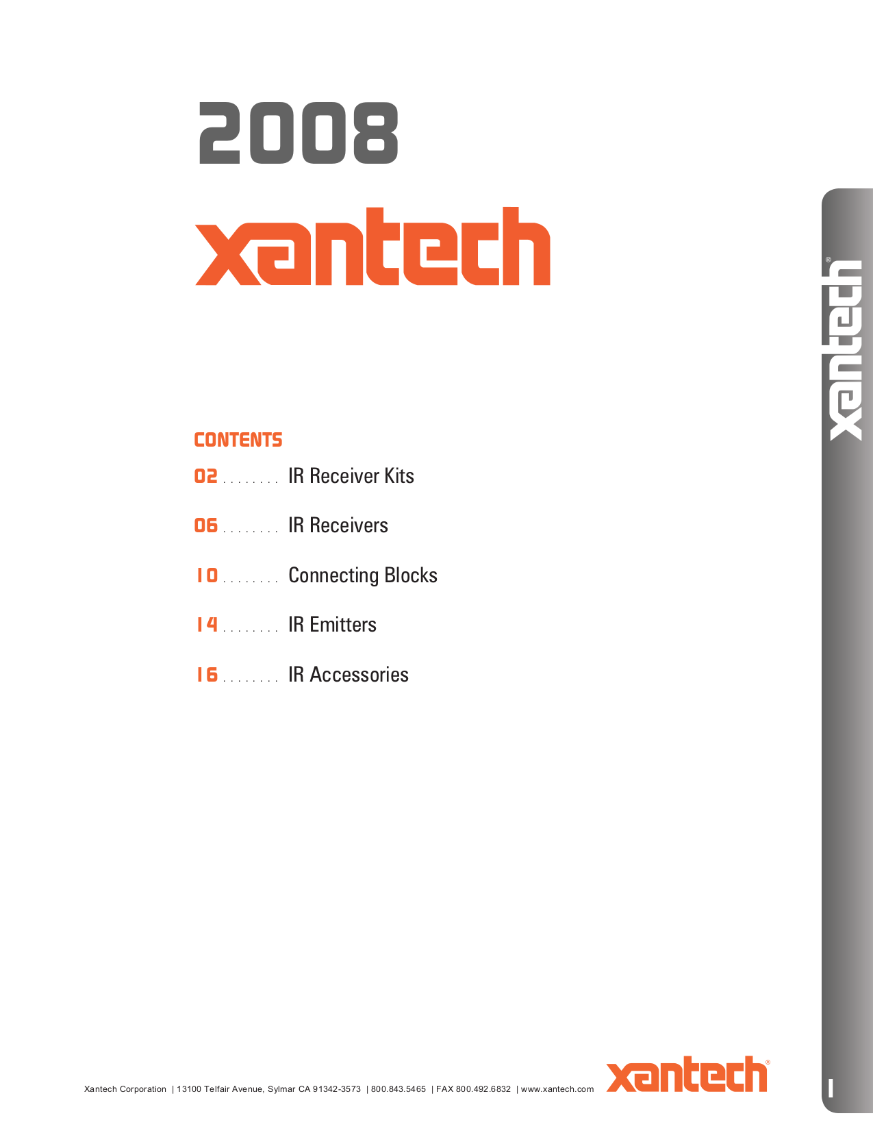 pdf for Xantech Other CB60 Connecting Blocks manual