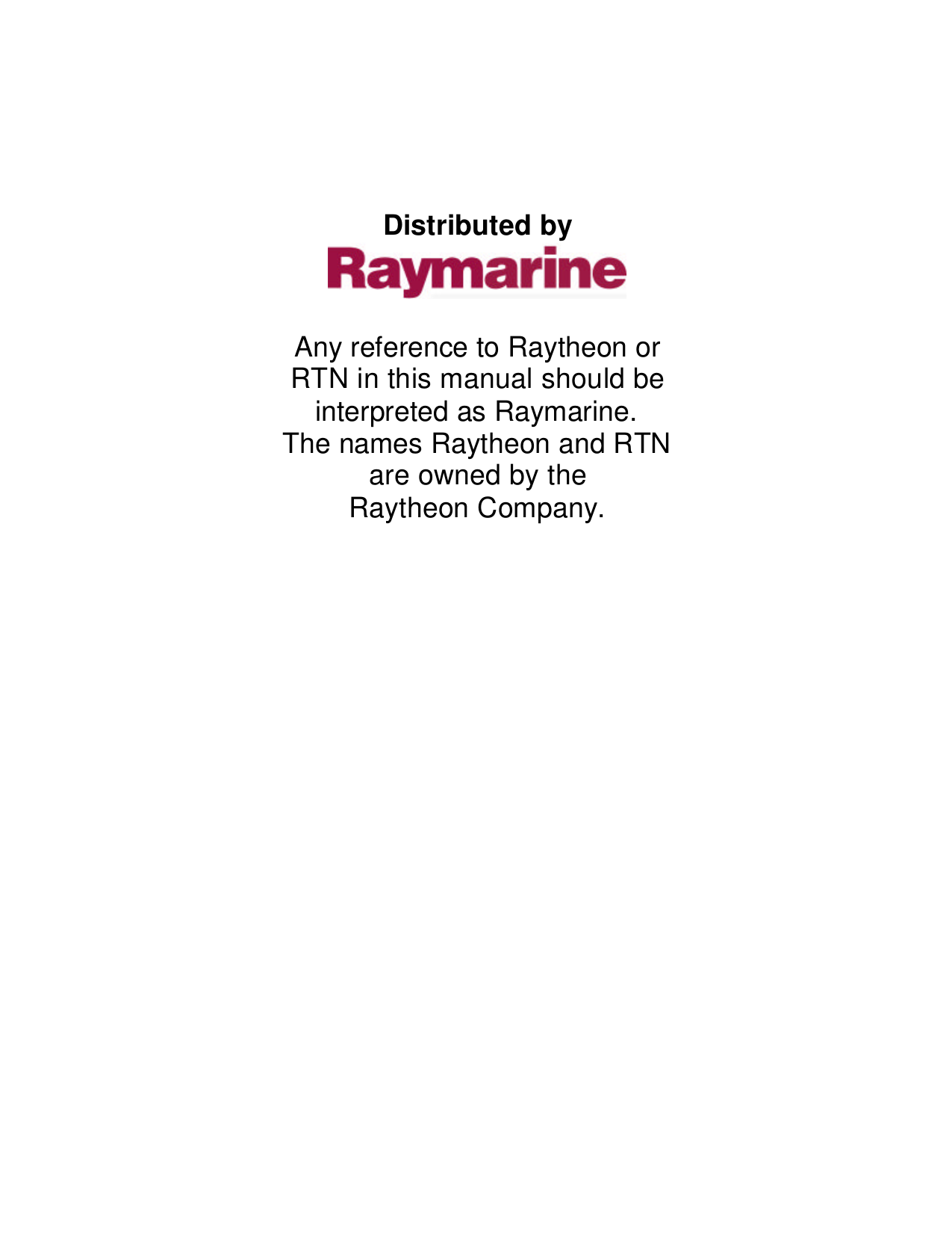 pdf for Raymarine GPS ST30 manual