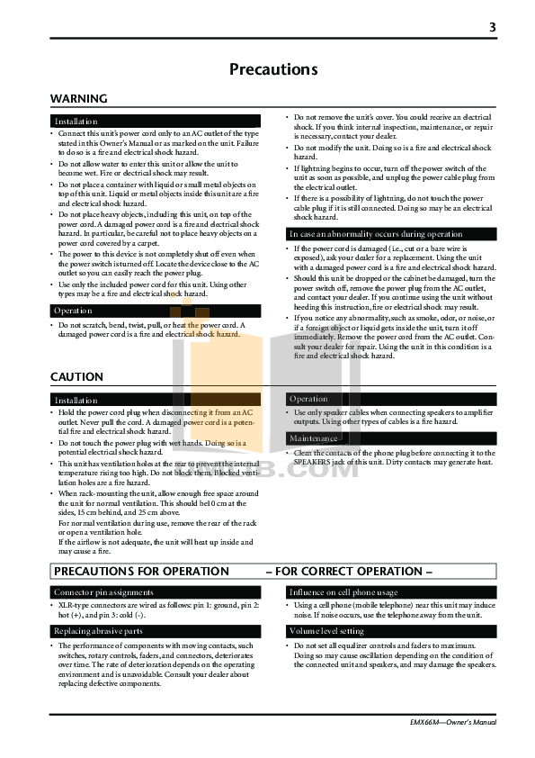Bg Speaker Z-1 pdf page preview
