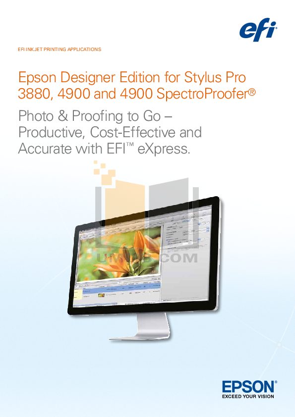 pdf for Epson Printer Stylus Pro 3880 manual