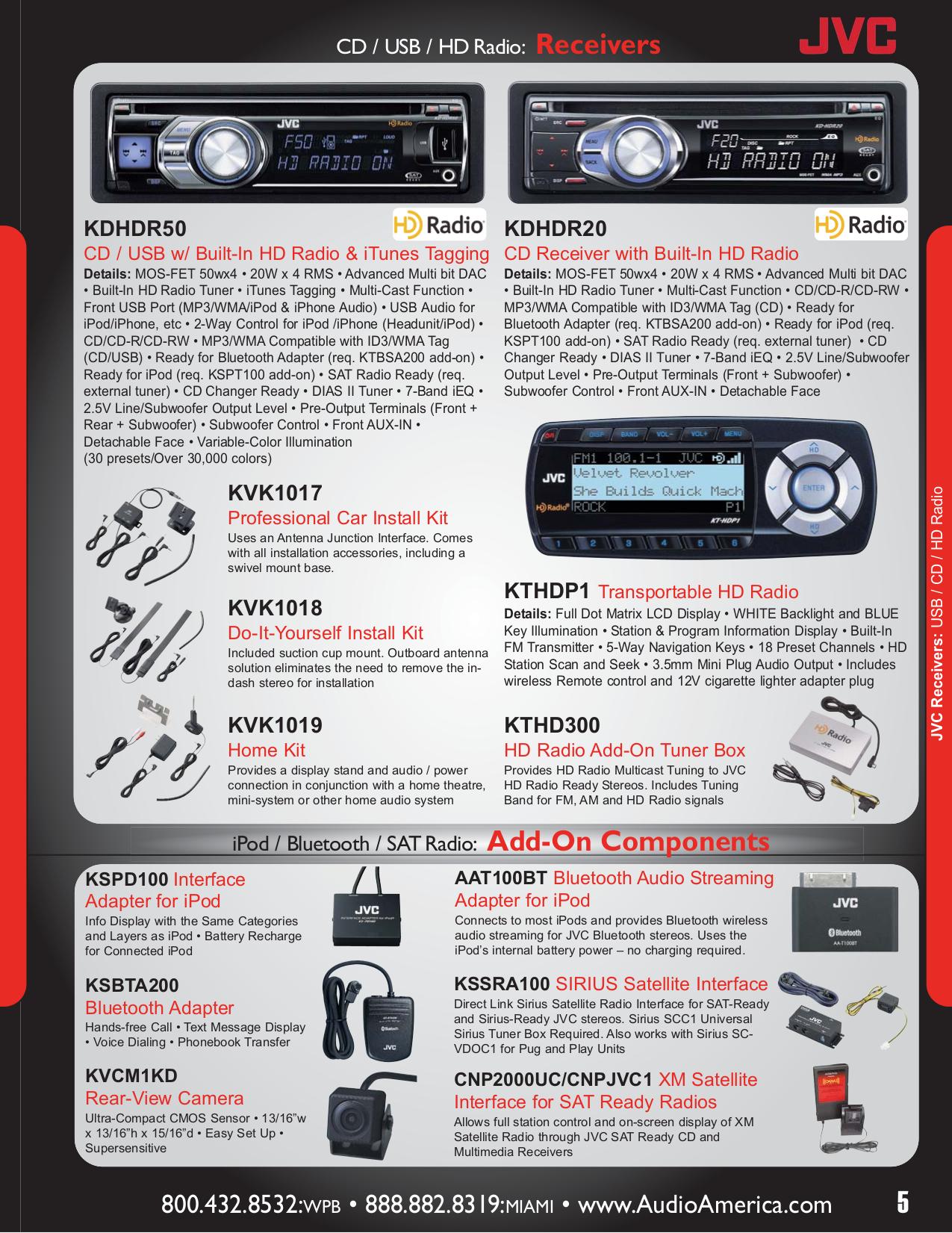 Jvc Car Stereo Manual Kd R200 Wiring Diagram Receiver Pdf Page Preview
